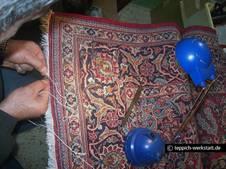teppichreparaturen und restaurationen keshan teppich ketteln. Black Bedroom Furniture Sets. Home Design Ideas